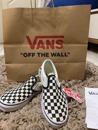 Vans Slip On Checkerboard kids Size 34