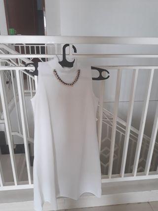 3n Dress White