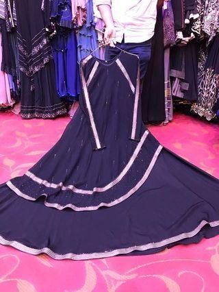 Abaya princess cut