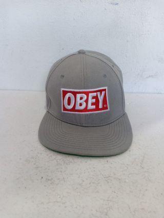 OBEY Grey Snapback