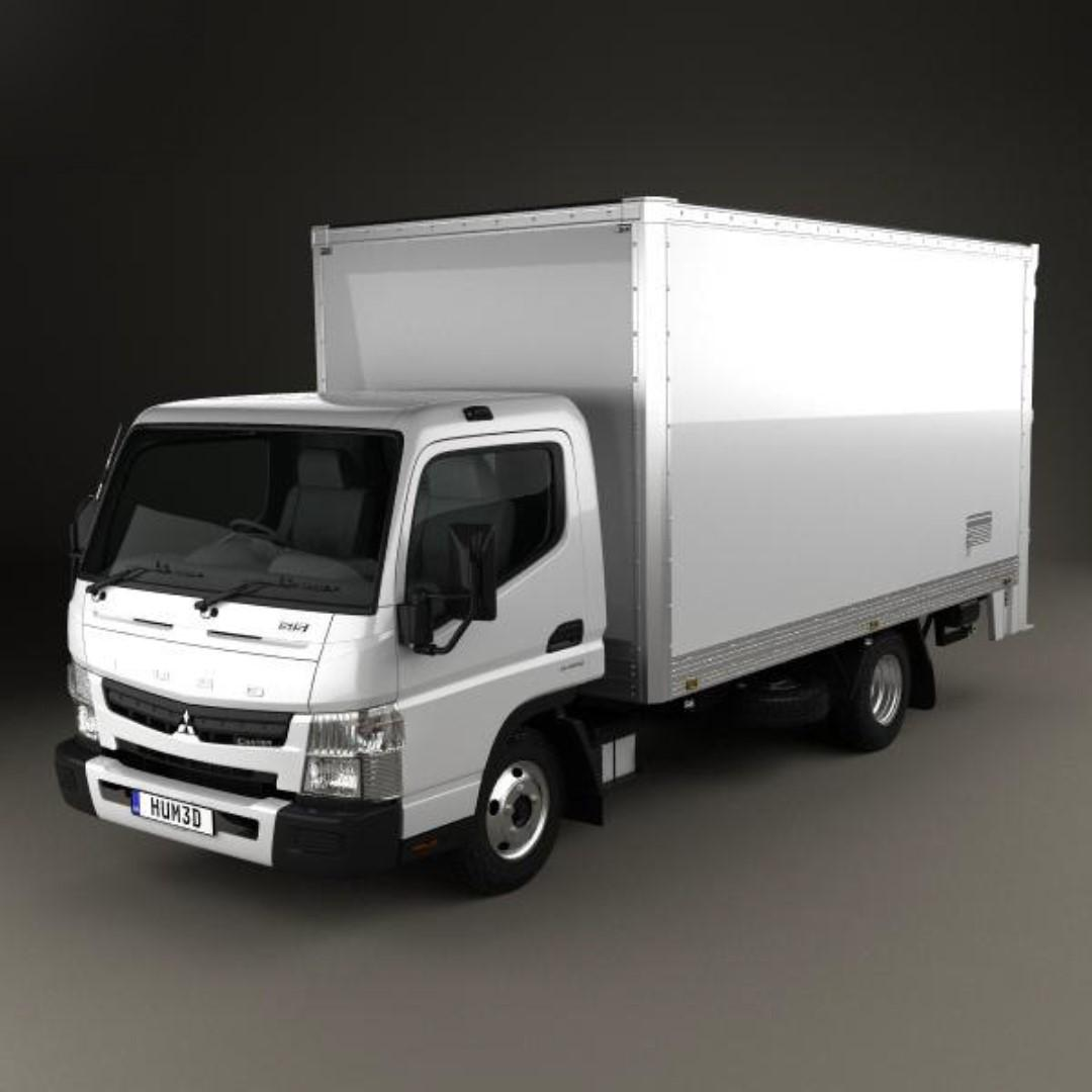 14/15/24FT boxed/canopy w tailgate truck for rent / lease
