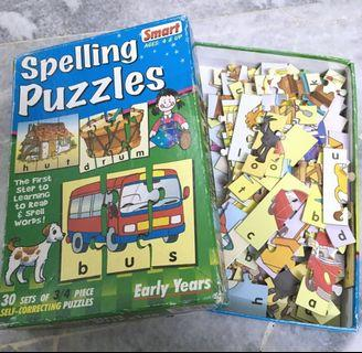 Spelling Puzzles for kids
