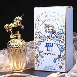 Anna Sui fantasia安娜蘇獨角獸築夢天馬香水