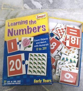 Learning The Number Puzzle for kids