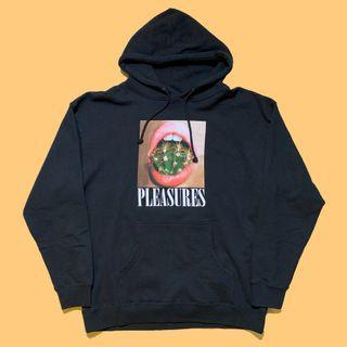 JCI:洛杉磯新興街牌 Pleasures Prick 黑色印花帽T Golf Wang / Palm Angels