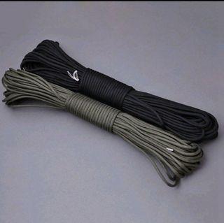 黑色七芯傘繩 31米 露營 帳篷