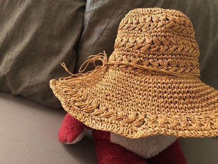 QueenShop編織草帽