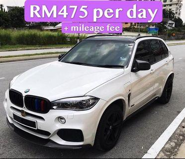 Rent a BMW X5 in KL