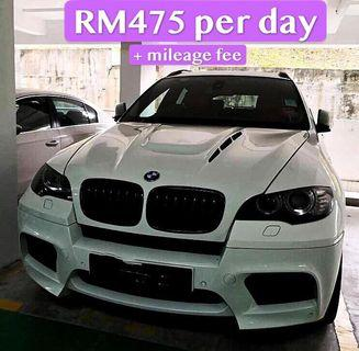 Rent a BMW X6 M performance in KL