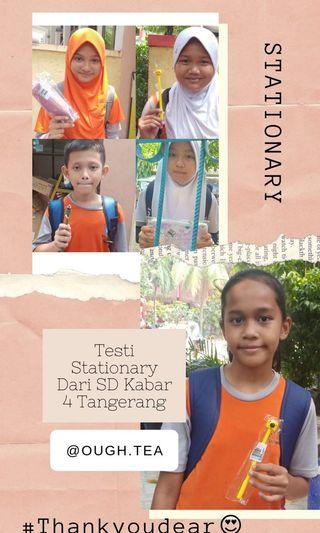 Testi Stationary & Case Hp