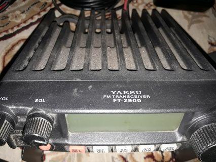 Yaesu Mobile Rig FT 2900