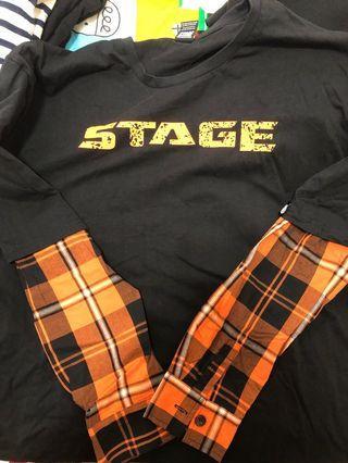 假兩件oversize(Stage)