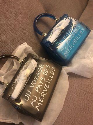 Purse the famous blogger bag.