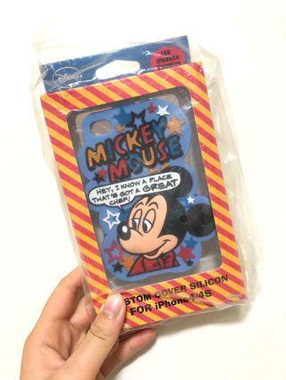 iPhone 4 Disney 米奇手機軟殼 矽膠殼