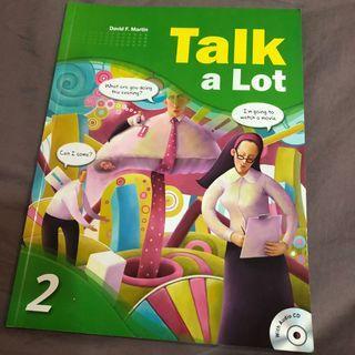 《Talk a Lot 2》英文課本
