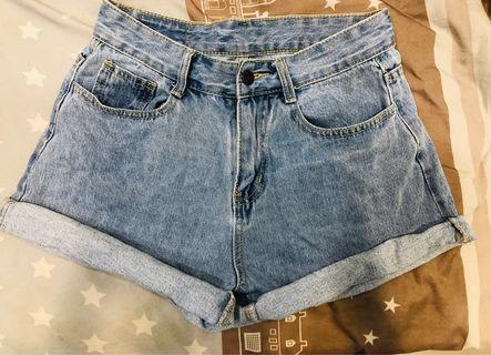 💖唯美反折短褲💖
