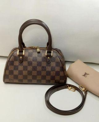 Authentic lv ribera mini