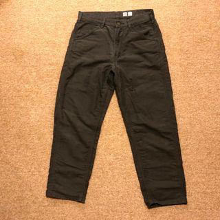 Uniqlo U 男裝寬版窄管多色牛仔褲 深灰 鐵灰 30腰 413552 UUUU系列
