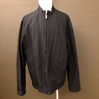 8成新現貨 Kenneth Cole Reaction Winter Jacket Large 冬天保暖防風黑色大衣外套
