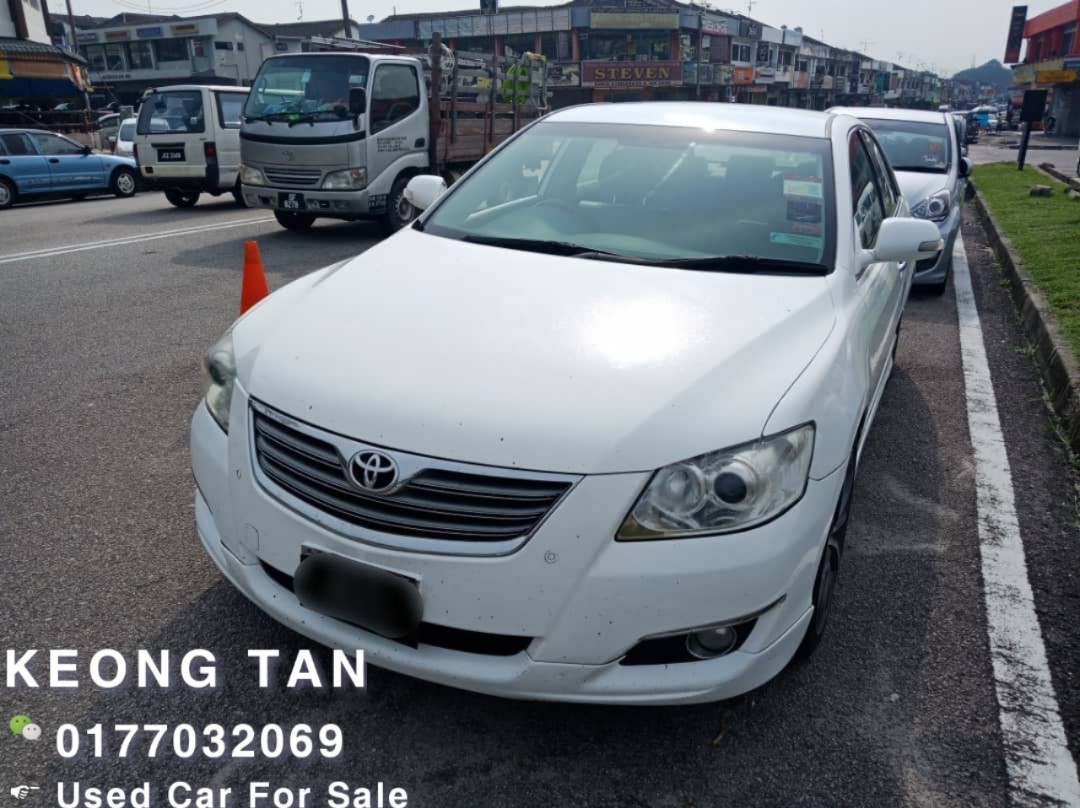 2007TH🚘TOYOTA CAMRY 2.4AT V FullSPEC LeatherSeat/👍Condition Cash💰 OfferPrice💲Rm34,800 Only‼LowestPrice InJB 🎉📲 KeongForMore‼🤗