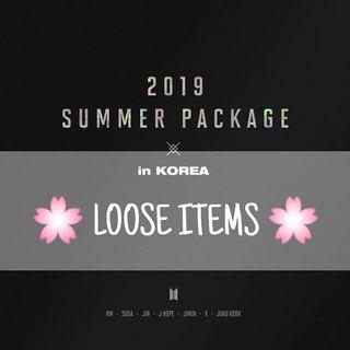 💜LOOSE ITEMS/FULL SET💜 BTS 2019 SUMMER PACKAGE IN KOREA
