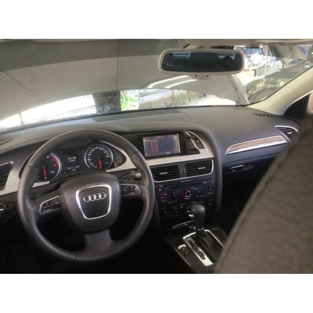【精選極低里程優質車】2009年 AUDI A4 Avant 2.0升渦輪版【經第三方認證】【車況立約保證】