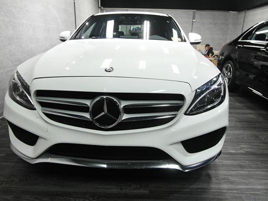 2016 白色c300 23p AMG