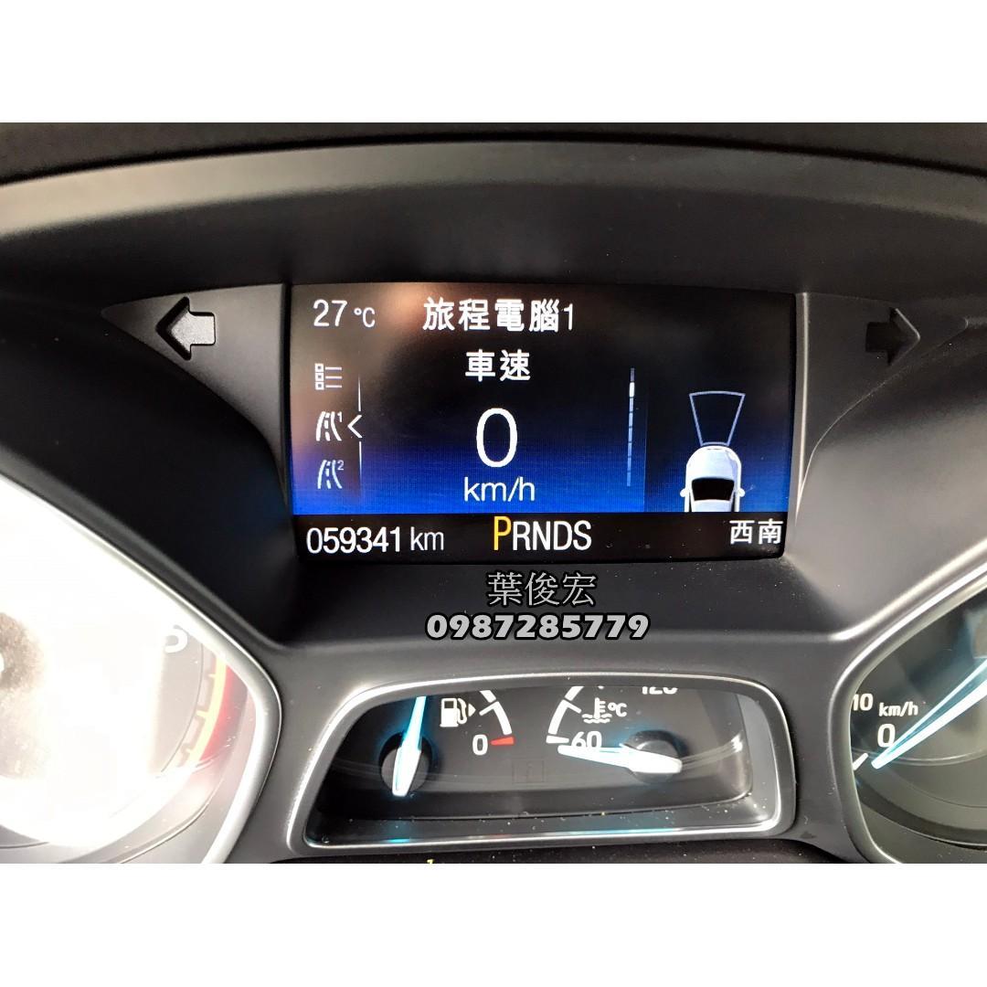福特原廠認證中古車2017年Ford KUGA TDCI 2.0柴油四傳 好開油耗棒 原廠認證保固