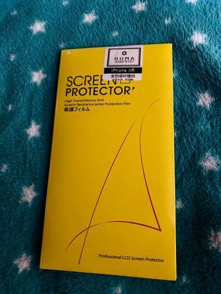Screen protector iphone XR