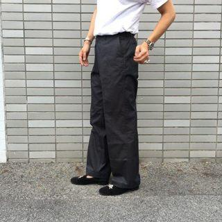 AURALEE FINX CHAMBRAY WIDE PANTS 美品