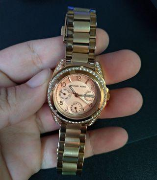 MICHEAL KORS FOR WOMEN GOLD ROSE