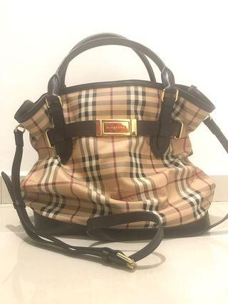 Burberry Sling or Tote Handbag