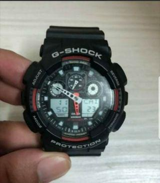 G-Shock Casio WATCH RED/BLACK (ORIGINAL)