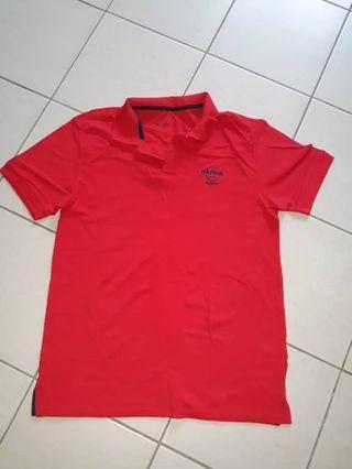 Hard rock polo T-shirt