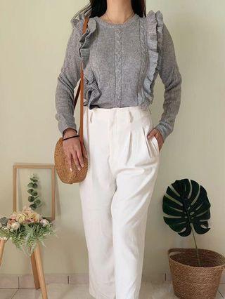 Women long sleeve Top long pants