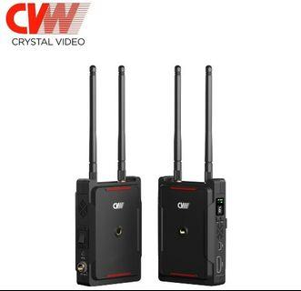 (READY STOCK) CVW Swift 800FT Wireless Video Transmission System HDMI Wireless Transmitter Receiver for Smartphone Monitor DSLR