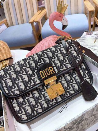 Dior dioraddict oblique canvas bag