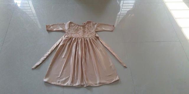 Dress anak usia 4 sampai 5 tahun New 35K