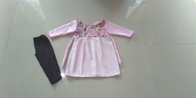 Dress anak usia 3 tahun New 35K