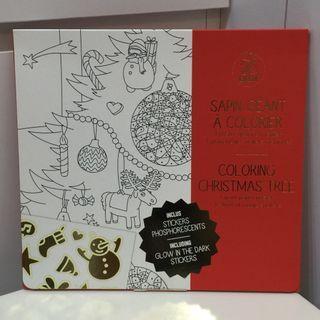 [全新] 法國OMY Poster Christmas Tree 發現聖誕樹限量版海報- 海報型 (內含發光貼紙)