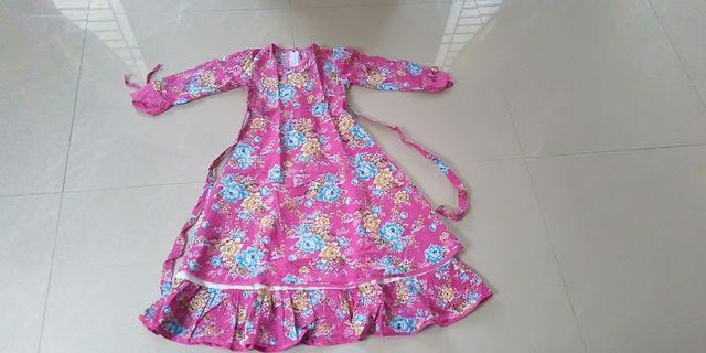 Preloved dress anak usia 5 tahun 35K