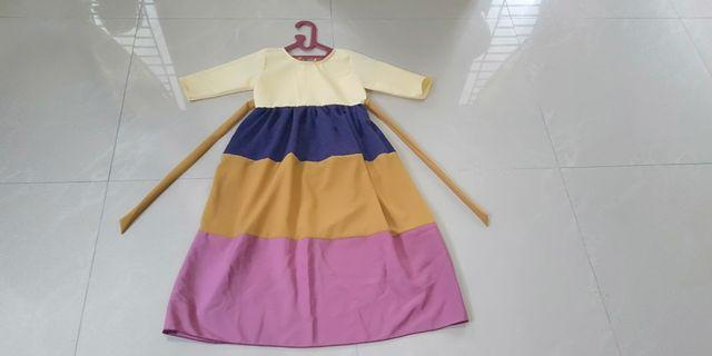 Dress anak usia 5 tahun New 35K
