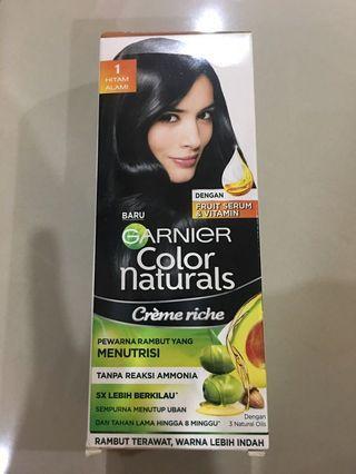 Garnier color natural hair dye