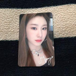 WTB // ITZY CHAERYEONG OFFICIAL PHOTOCARD