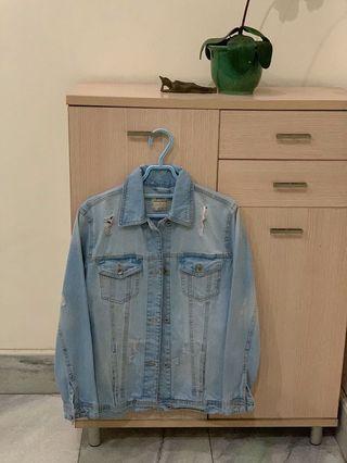 Denim jacket light washed