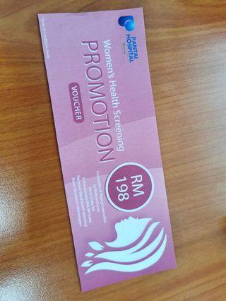 Women's Health Screening Voucher #betul2free
