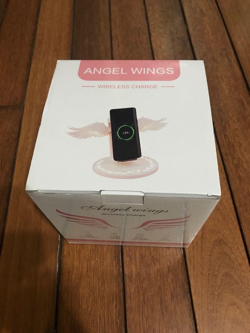 天使翅膀無限充電器(全新)就一個沒有就沒了