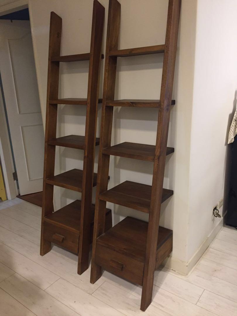 桃花心木 梯型架