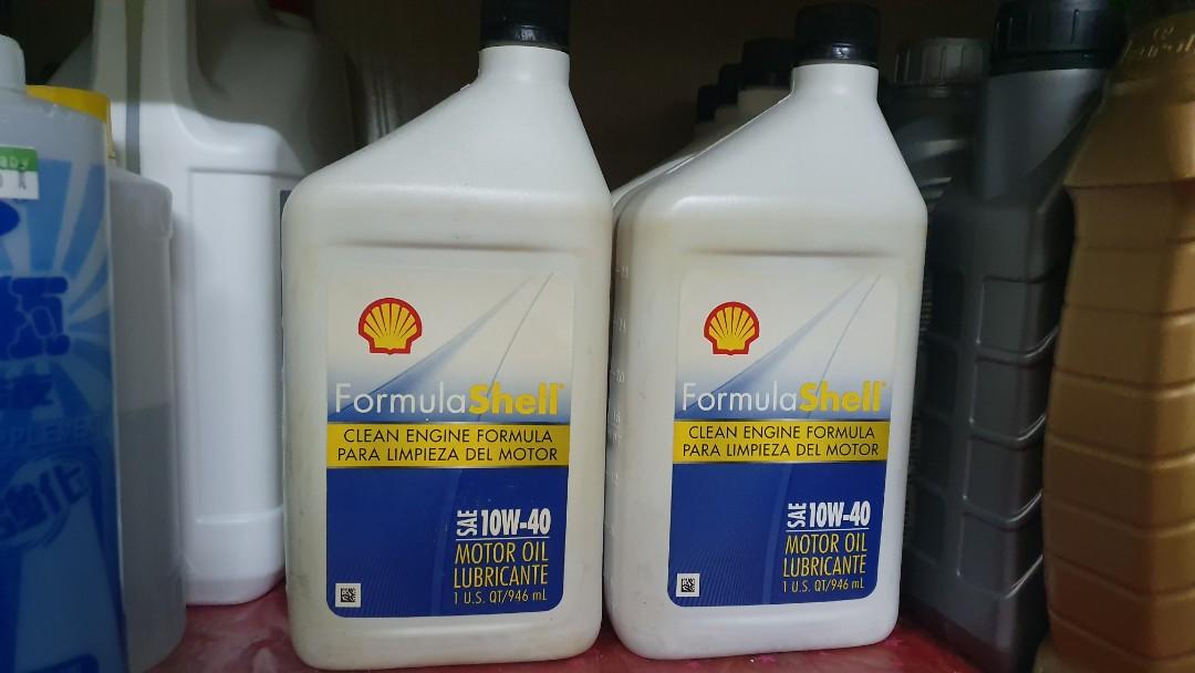 殼牌 機油  Shell 10w40