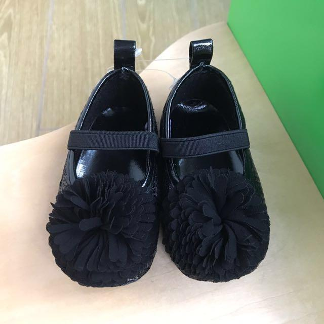 清貨減價 🇺🇸美國直送🇺🇸 Stepping Stones® 正品 閃亮珠片柔軟公主鞋 女童鞋 BB鞋 童裝鞋